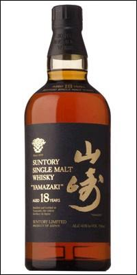 The Yamazaki Whisky Single Malt 18 Year